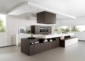 Matte Wood Kitchen