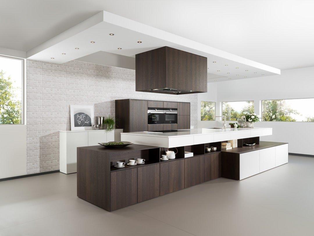Matte Wood Kitchen