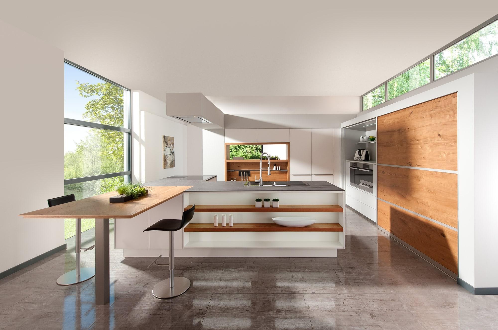 Matte Black Kitchen Design
