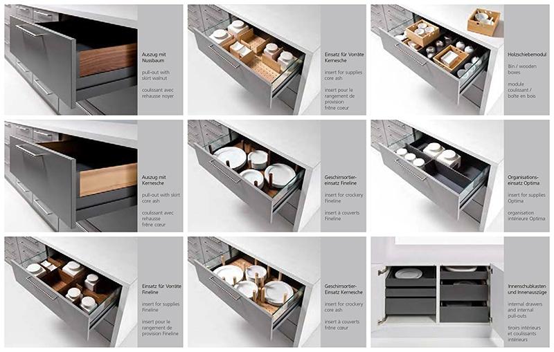 German Kitchen Storage Ideas Drawer Inserts