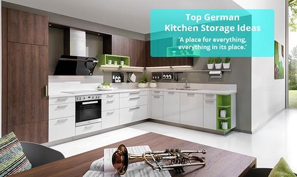 Kitchenality Thoughts - Top German Kitchen Storage Ideas