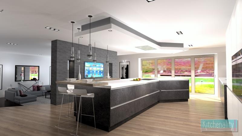 Kitchenality L Shaped Kitchen Design