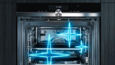 Futuristic Kitchen Siemens Oven
