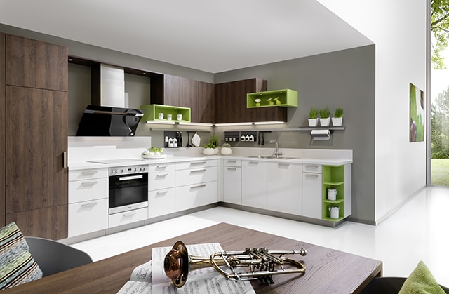 Kitchenality L-Shape CAD Design Kitchen