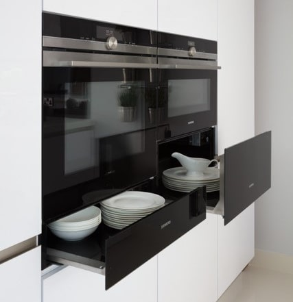Easy clean ovens