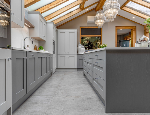 Case Study: grey shaker style kitchen with a traditional twist