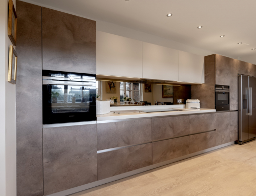Case Study: modern kitchen with a twist in a Country Cottage